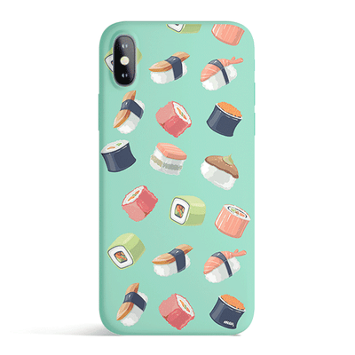 Sushi Lover - Colored Candy Cases Matte TPU iPhone Cover