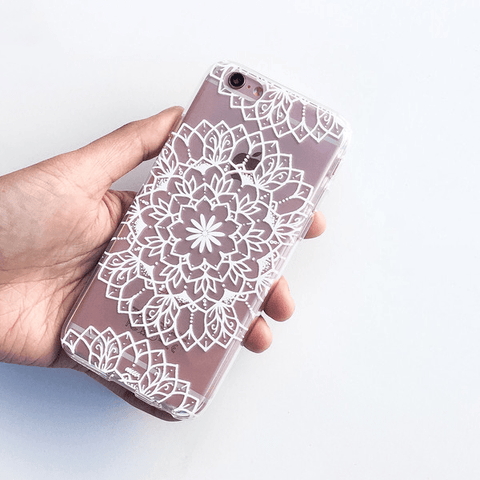 Steph Okits X Milkyway Cases 'Sweet Daisy' - Clear TPU Case Cover