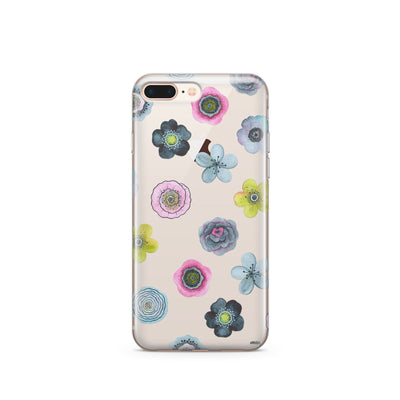 Sylvan Succulent - Clear Case Cover - Milkyway Cases -  iPhone - Samsung - Clear Cut Silicone Phone Case Cover