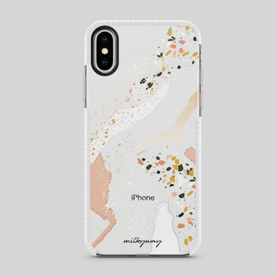 Tough Bumper iPhone Case - Terrazzo Party