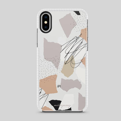 Tough Bumper iPhone Case - Torn Phases