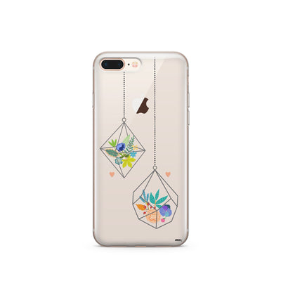 Terrarium - Clear Case Cover - Milkyway Cases -  iPhone - Samsung - Clear Cut Silicone Phone Case Cover