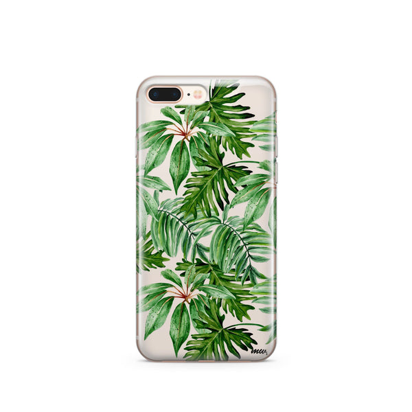 The Tropics - Clear Case Cover - Milkyway Cases -  iPhone - Samsung - Clear Cut Silicone Phone Case Cover
