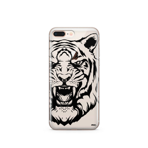 Tiger - Clear Case Cover