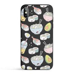 Tokyo Foodie - Colored Candy Cases Matte TPU iPhone Cover