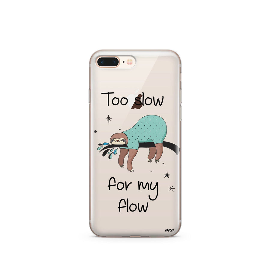 Too Slow - Clear Case Cover