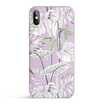 Tropical Mint - Colored Candy Cases Matte TPU iPhone Cover