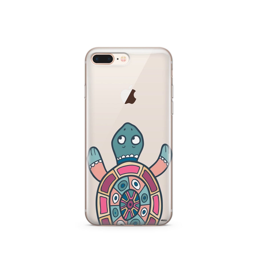 Turtle - Clear TPU Case Cover - Milkyway Cases -  iPhone - Samsung - Clear Cut Silicone Phone Case Cover