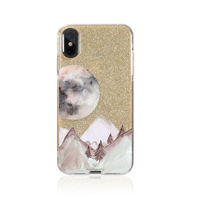 Twilight Glitter Hybrid Case