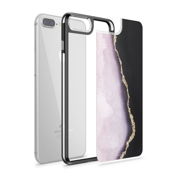Veins of Gold - Slate Case - Milkyway Cases -  iPhone - Samsung - Clear Cut Silicone Phone Case Cover