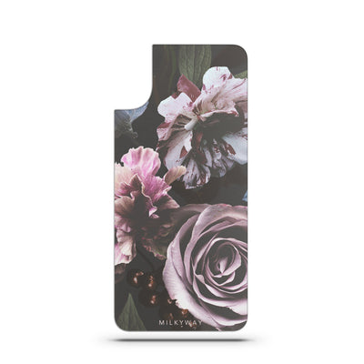 Wilted Floral Slate Backplate Interchangeable Milkyway Cases iPhone X