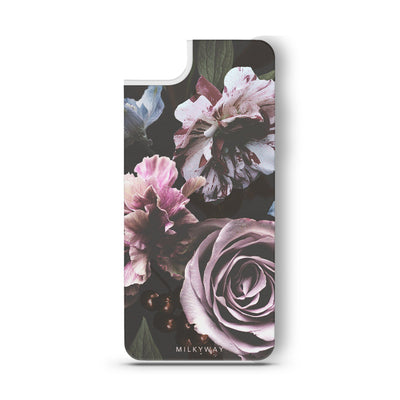 Wilted - Slate Backplate - Milkyway Cases -  iPhone - Samsung - Clear Cut Silicone Phone Case Cover