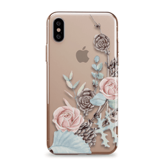 Winter Bloom - iPhone Clear Case