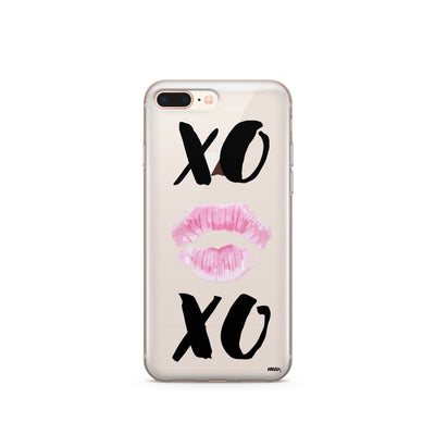 XOXO - Clear TPU Case Cover - Milkyway Cases -  iPhone - Samsung - Clear Cut Silicone Phone Case Cover