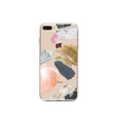Abstract Party - Clear TPU Case Cover - Milkyway Cases -  iPhone - Samsung - Clear Cut Silicone Phone Case Cover
