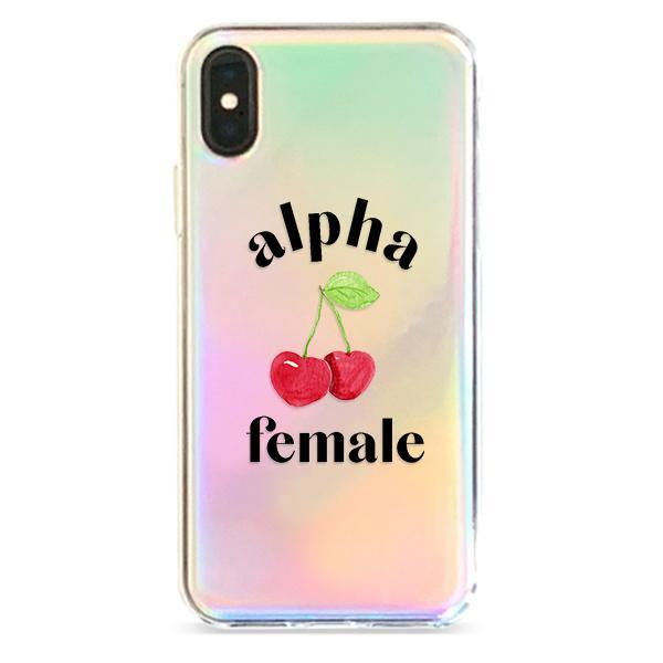 Alpha Female - Holographic iPhone Case Cover