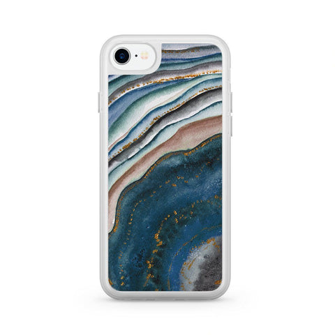 Premium Milkyway iPhone Case - Blue Agate