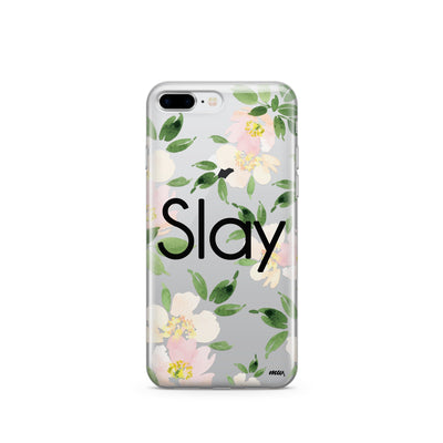 Slay - Clear TPU Case Cover - Milkyway Cases -  iPhone - Samsung - Clear Cut Silicone Phone Case Cover