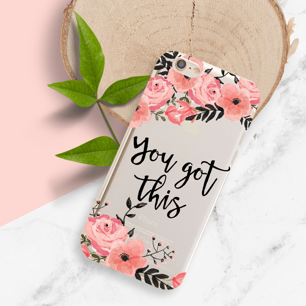 You Got This - Clear TPU Case Cover