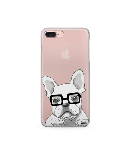 """CLEARANCE"" iPhone 6 Clear TPU Case Cover - The Frenchie"
