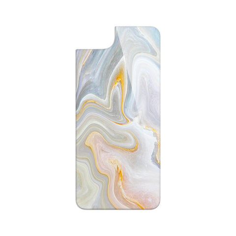 Premium Backplate - Gold Lick Marble