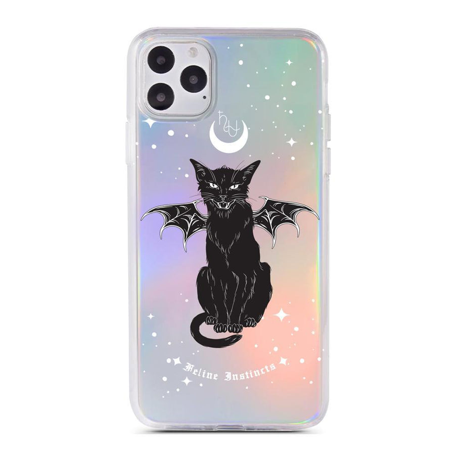 HHHU Feline Instincts - Holographic - iPhone Case