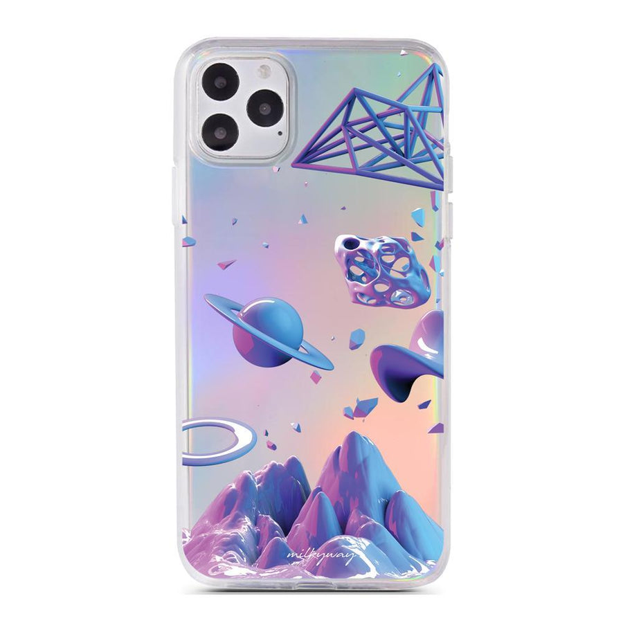 Galaxy Trip - Holographic iPhone Case
