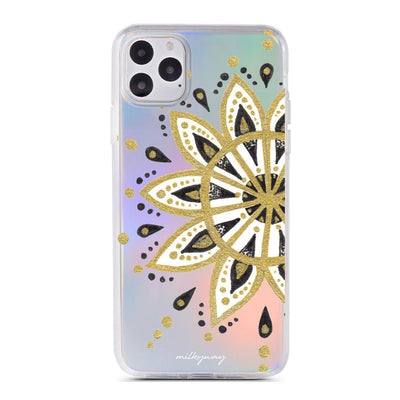 Gold Peace - Holographic iPhone Case