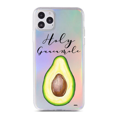 Holy Guacamole - Holographic iPhone Case