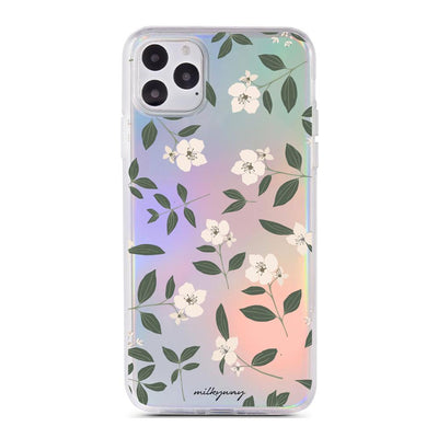 Jasmine Blossom - Holographic iPhone Case