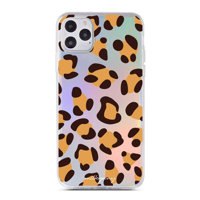Leopard Print - Holographic iPhone Case