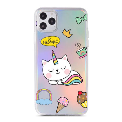 Meowgical - Holographic iPhone Case