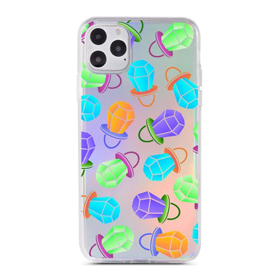 Ring Pop - Holographic iPhone Case