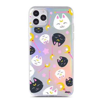 Sailor Kitty - Holographic iPhone Case