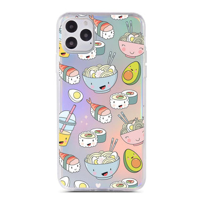 Tokyo Foodie - Holographic iPhone Case