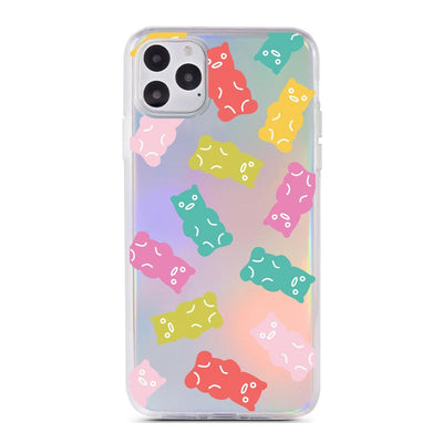 Gummy Bear - Holographic iPhone Case