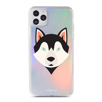 Husky - Holographic iPhone Case