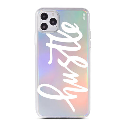 Hustle - Holographic iPhone Case