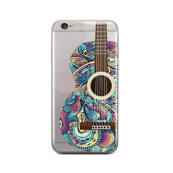 Henna Abstract Guitar iPhone 6 / 6S Case Clear