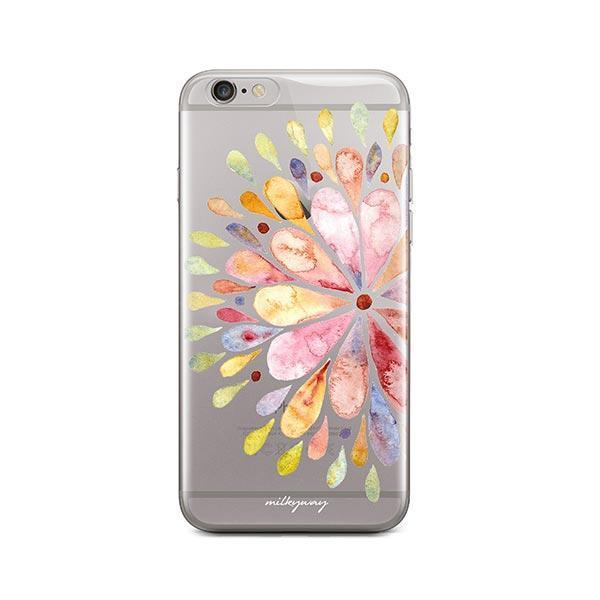 Blissful Mandala iPhone 6 Plus / 6S Plus Case Clear