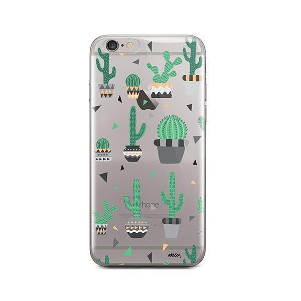 Cactus Party iPhone 6 / 6S Case Clear