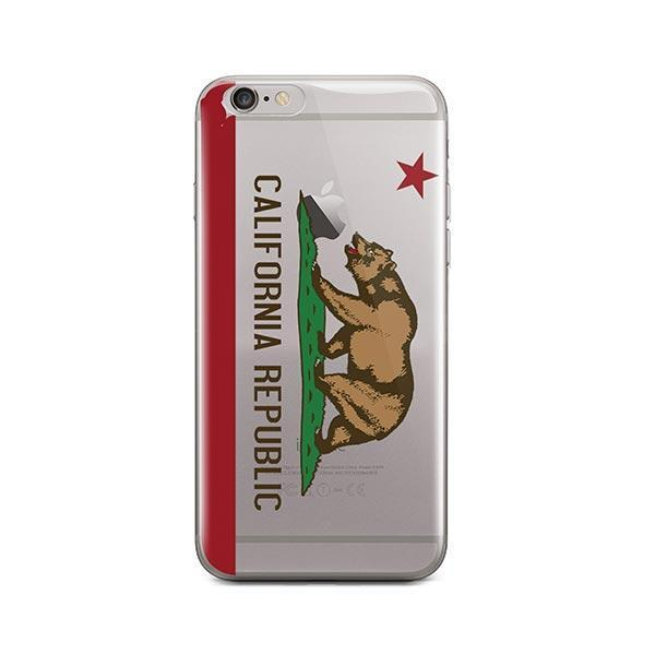 California Republic iPhone 6 / 6S Case Clear