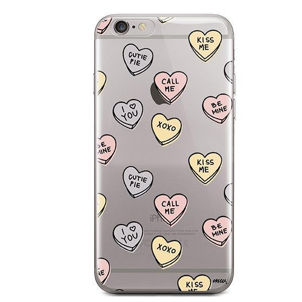 Candy Hearts iPhone 6 / 6S Case Clear