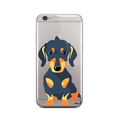 Doxie - iPhone Clear Case