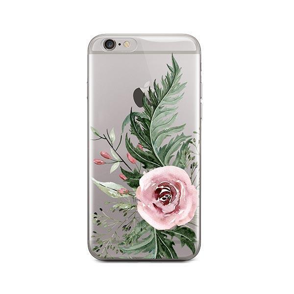 Dusty Pink Rose Iphone 6 6s Case Clear Milkyway
