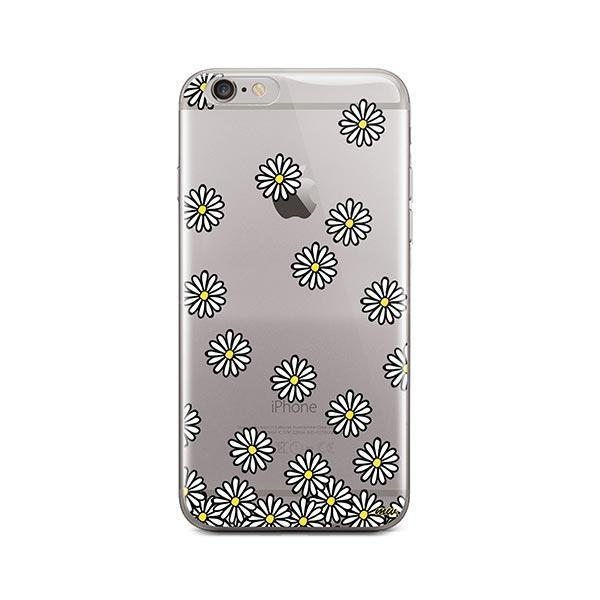 Falling Daisies iPhone 6 / 6S Case Clear