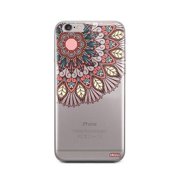quality design 29619 9c3e0 Henna Floral Mandala iPhone 6 / 6S Case Clear
