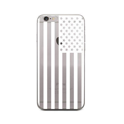 USA Flag - iPhone Clear Case