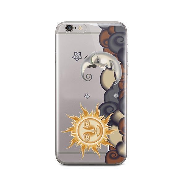 info for 2c38b 93abd Henna Sun and Moon iPhone 6 / 6S Case Clear