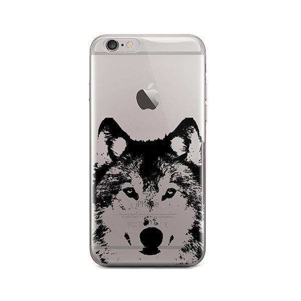 Henna Wolf - iPhone 6 / 6S Case Clear